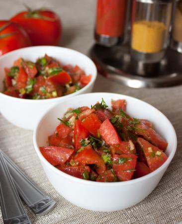 Марроканский салат из помидор