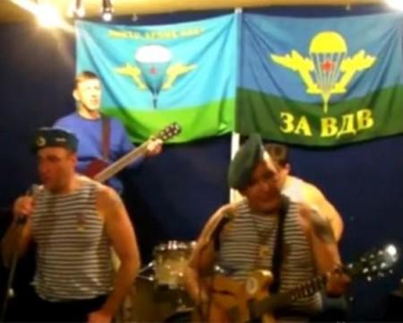 Новый хит Youtube: ветераны ВДВ с песней против Путина
