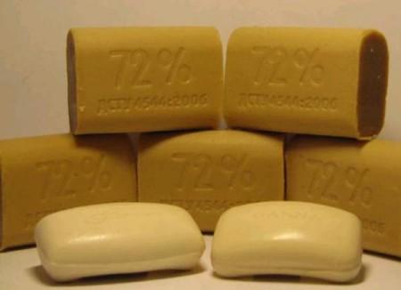 Универсальность хозяйственного мыла