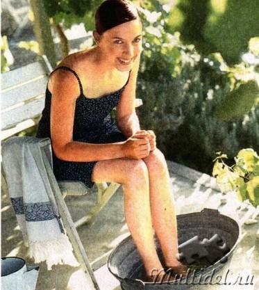 Целебные ванночки для ног