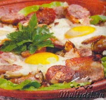 Завтрак по-дублински Ирландские драники