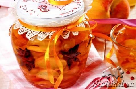 Варенье из сочных персиков