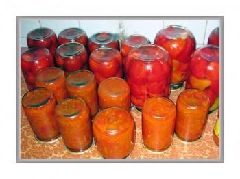 Витаминные салаты из банок
