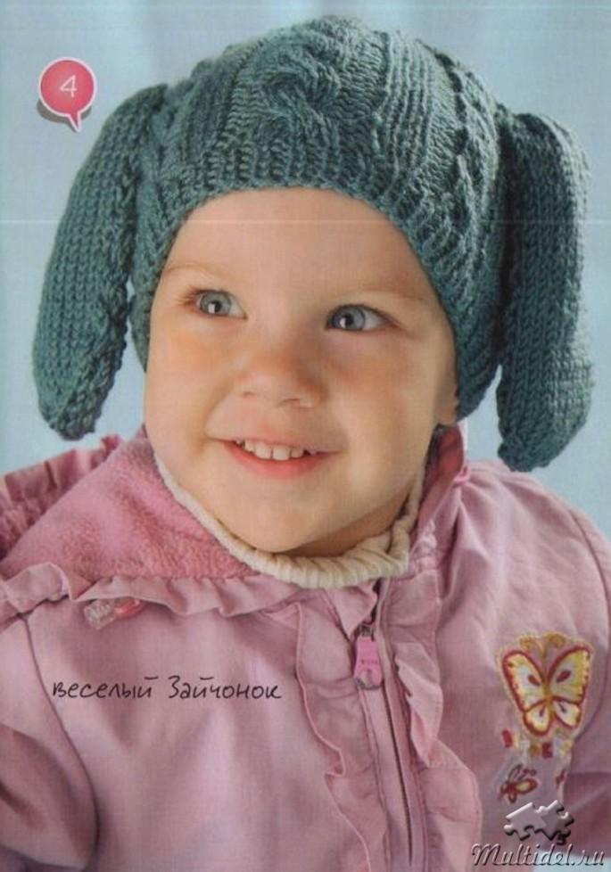 Как связать шапочку для мальчика 6 месяцев 154