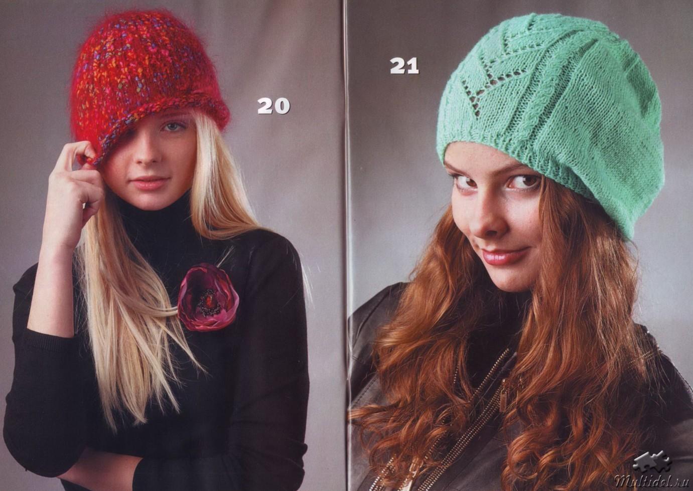 Вязать женскую шапку своими руками 492