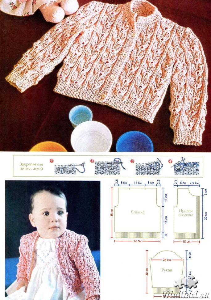 В контакте вязание для детей спицами 38