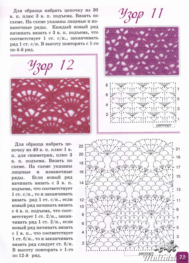 Просмотр журналов схем вязания 716