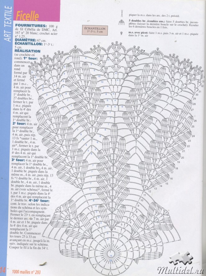 Схема вязания шали дубовые листья крючком 99
