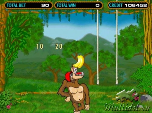 Путешествие в страну Crazy Monkey, бесплатно