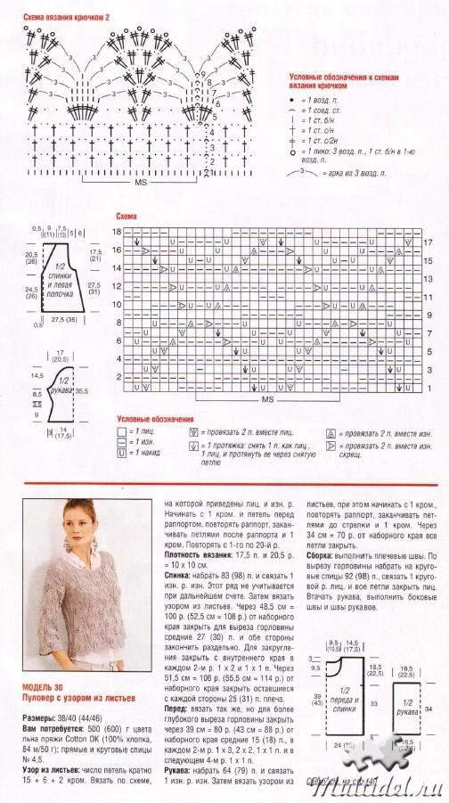 Журнал для вязания сабрина описание