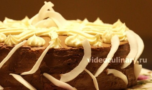Торт Принцесса - видео-рецепт
