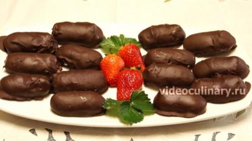 Сырки в шоколаде, видео - рецепт